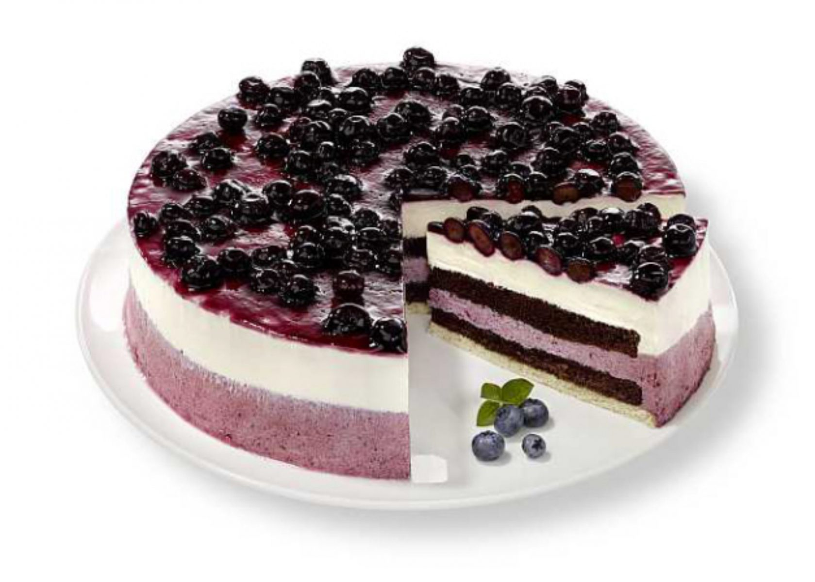 Ideal 3435 HEIDELBEER-PANNA-COTTA-TORTE – K&D Backwaren I  XB52